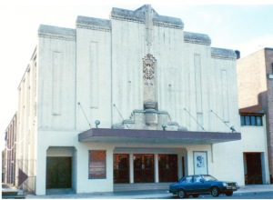 The Roxy Theatre building in Cootamundra