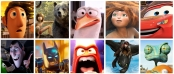 Montage of images from list of 10 kids movies