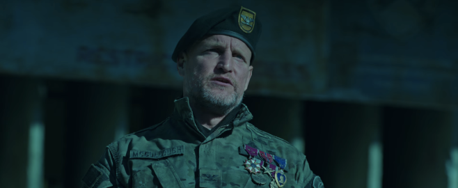 Woody Harrelson as The Colonel