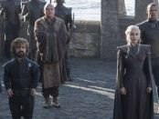 Tyrion, Varys, and Danerys aarrive at Dragonstone