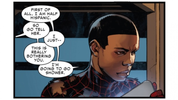 African-American-Latino Spiderman, Miles Morales