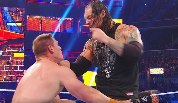 Corbin taunting Cena