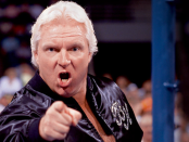 Bobby Heenan pointing at camera