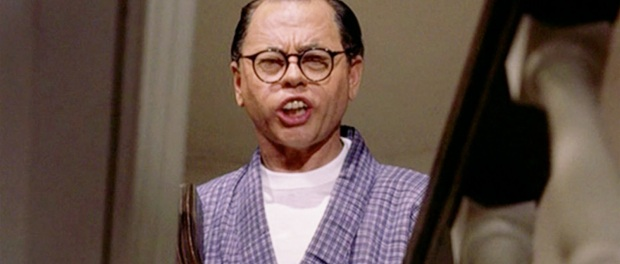 Mickey Rooney as Mr Yunioshi