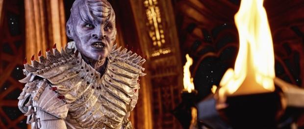 An angry Klingon