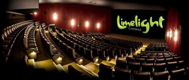 Interior of limelight cinema theatre