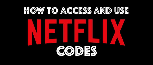 How to access Netflix codes (with Netflix logo)