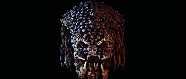 The Predators as a mosaic made up of human skulls and bones