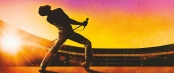 Silhouette of Freddie Mercury onstage at Wembley