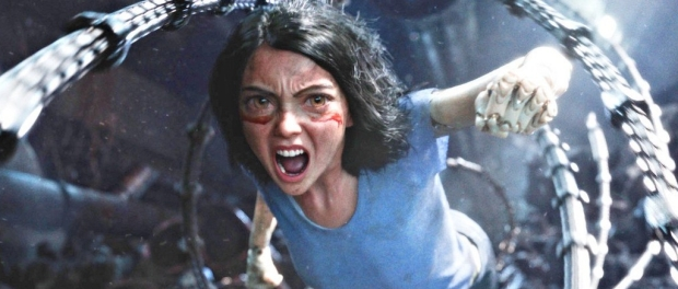 Alita charging into battle