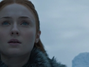 Sansa Stark Looking Skyward