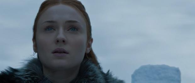 Sansa Stark Looking Skyward