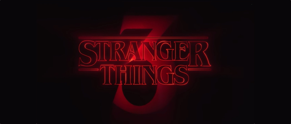 Stranger Things 3 logo